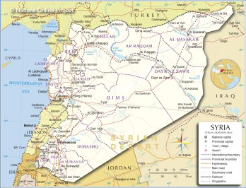 Syria's borders are all fraught