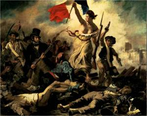 Delacroix's <i>Liberty Leading the People</i>