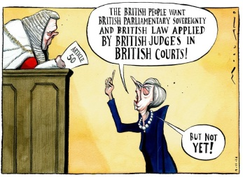 Morten Morland's cartoon from The Times, November 4th.