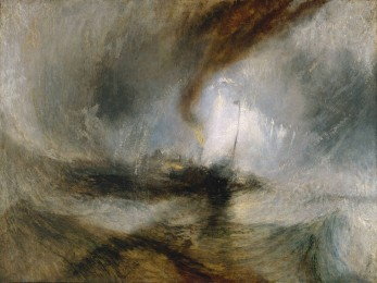 Snow Storm: Steam-Boat off a Harbour's Mouth, by J. M. W. Turner
