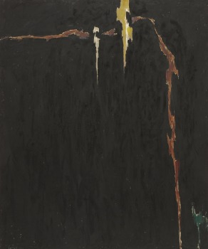 Clyfford Still's 1944-N No. 2